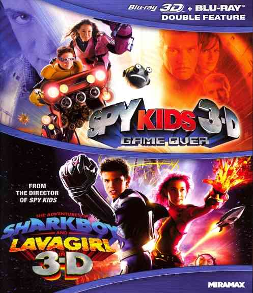 SPY KIDS 3D:GAME OVER/ADVENTURES OF S BY BANDERAS,ANTONIO (Blu-Ray)